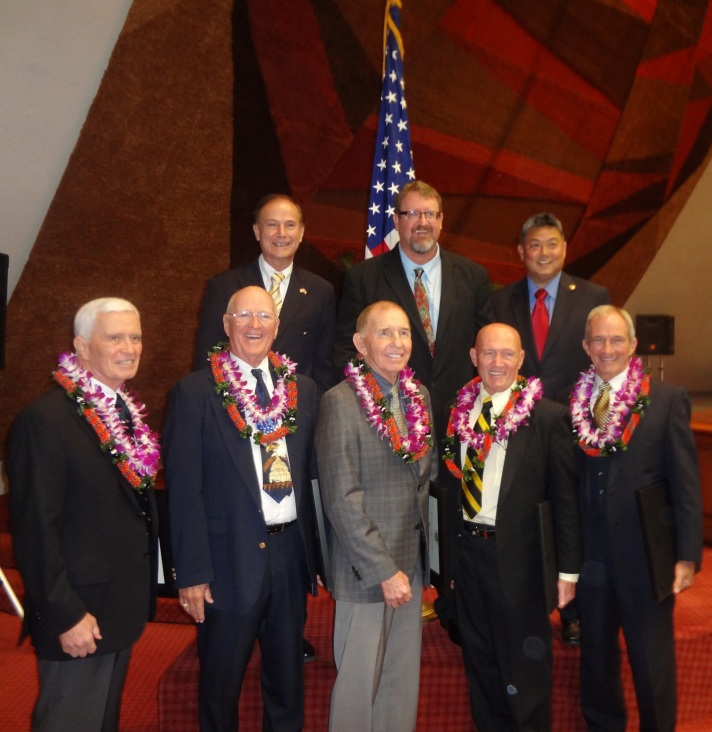 Vietnam honorees Ward and Mcdermott takai