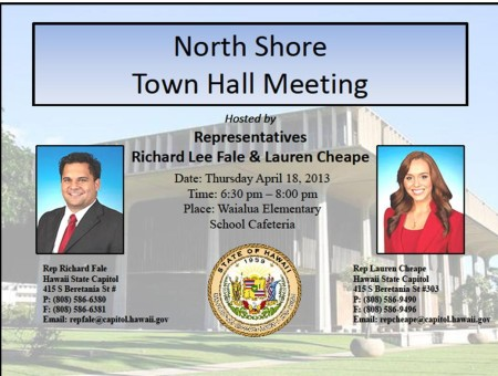 North SHore Town Hall Meeting
