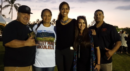 Jerome & Debra Werner from 808, Rep Tupola, , Kelli & Boy Timoteo